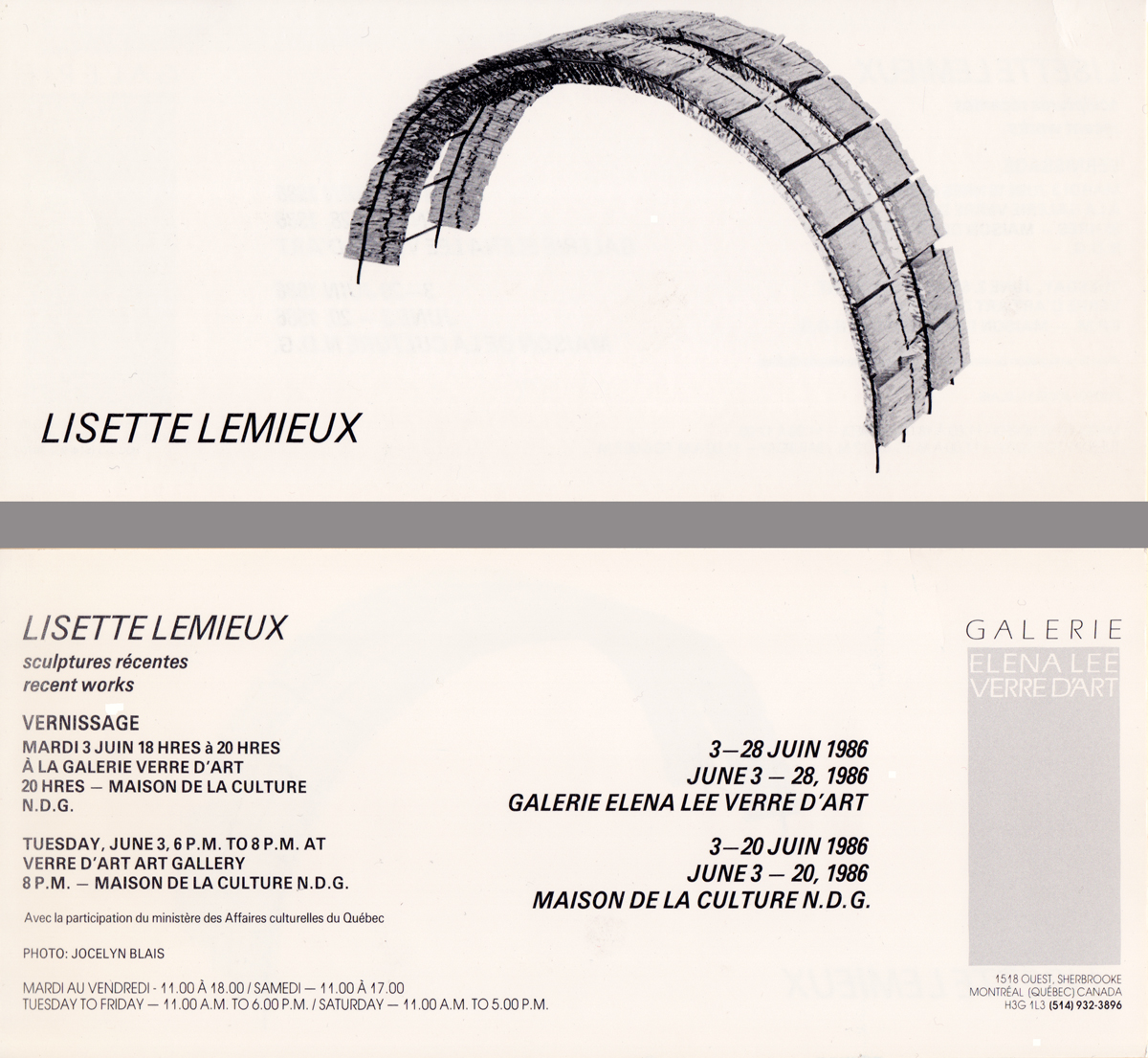Lisette Lemieux Sculpteure
